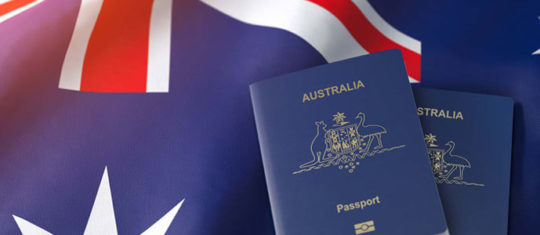 Demande de visa pour l'Australie